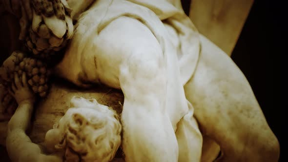 Thumbnail for Antique White Marble Statue
