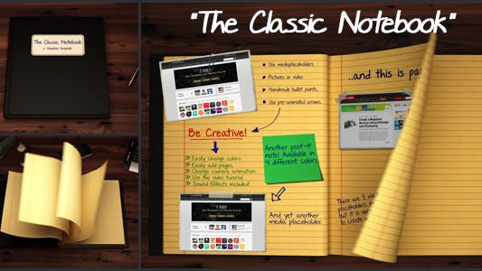 Thumbnail for The Classic Notebook