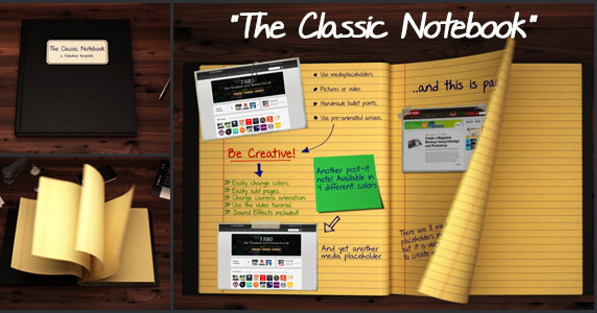 Download The Classic Notebook by Brothers
