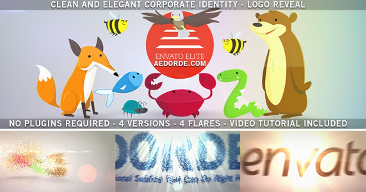 Download Clean and Elegant Corporate Identity - Logo Reveal by dorde