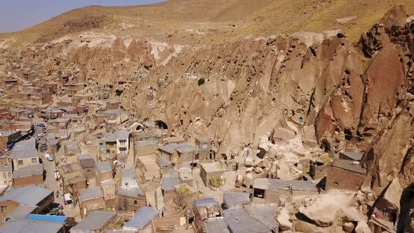 Thumbnail for Unusual Naturally Formed, Carved Rock Cave Houses of Kandovan, Iran