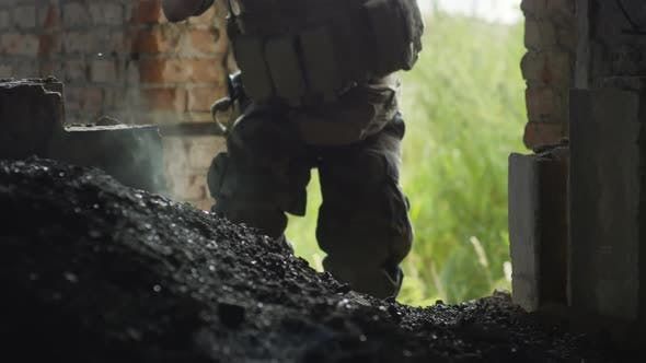 Thumbnail for Soldier Shooting at Enemy
