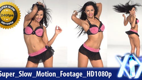 Dancer Super Slow Motion 240fps