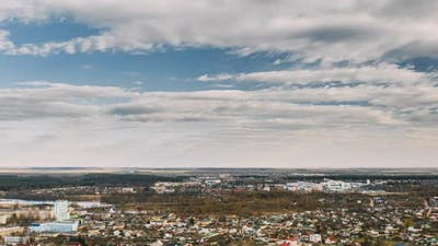 Small Town In Russia