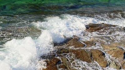 Seaside Rocks And Sea Waves 7