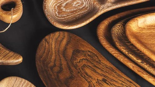 Wood texture. Lining boards wall. Wooden background pattern. Show growth rings