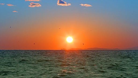 Sun Seascape
