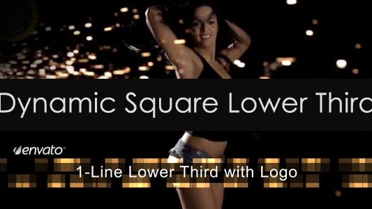 Thumbnail for Dynamic Square Lower Third