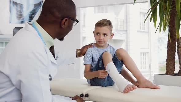 Thumbnail for Little Boy Listening Doctor