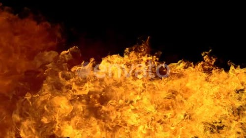 Fire Flame Motion Background
