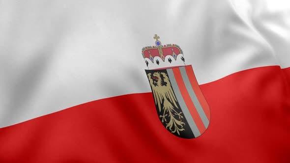 Upper Austria Flag