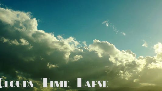 Thumbnail for Clouds Time Lapse