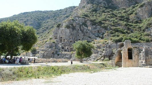 Thumbnail for Petroglyphic Tombs of the Ancient State Lycia