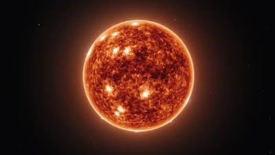Slow Zoom Toward the Sun - Medium Shot