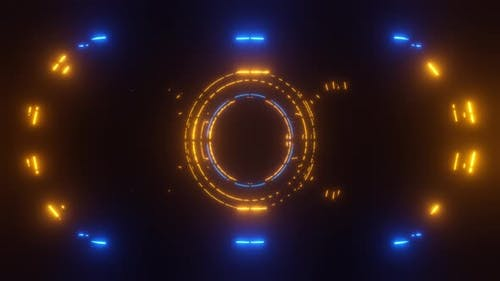 3d rendered VJ wireframe figures. Abstract background.