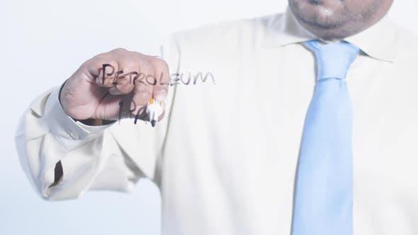 Indian Businessman Writes Petroleum Prices