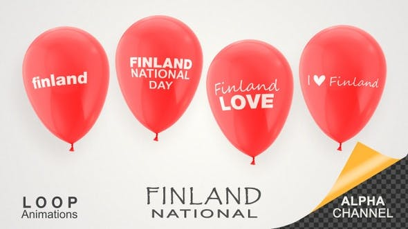 Thumbnail for Finland National Day Celebration Balloons