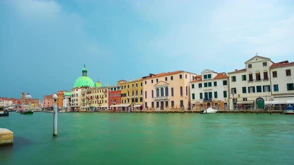 Cover Image for Grand Canal in Venice Italy
