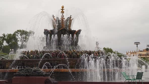 Thumbnail for Fountain Stone Flower Moscow