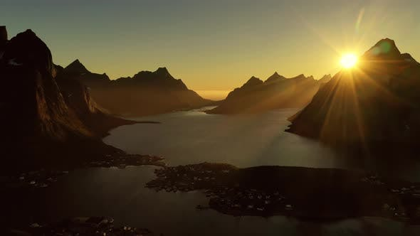 Thumbnail for Evening Sunset Lofoten Islands Norway