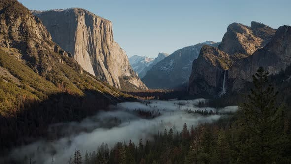 Thumbnail for Fog in Yosemite Valley