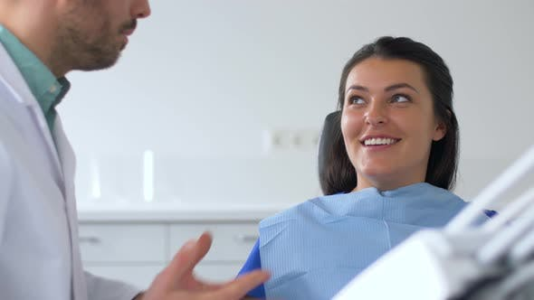 Thumbnail for Dentist and Patient Talking at Dental Clinic 30