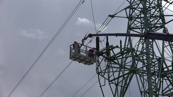 Thumbnail for High Voltage Line Workers 2
