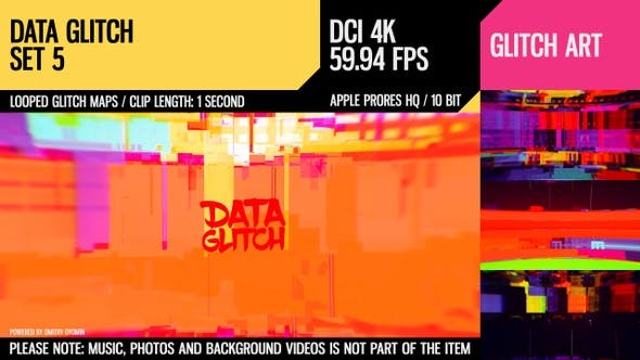 Thumbnail for Data Glitch (4K Set 5)