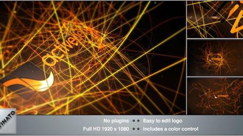 Light Streaks Logo