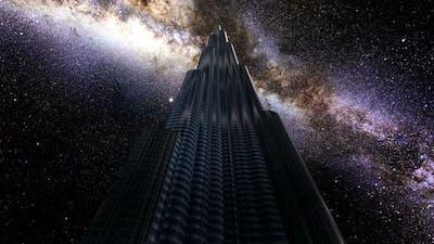 Burj Khalifa Milkyway Timelapse