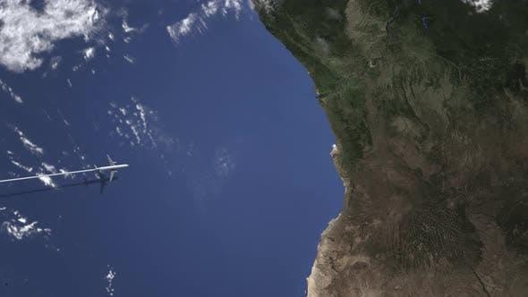 Thumbnail for Commercial Plane Arrives To Luanda Angola