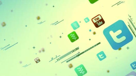 Cover Image for Social Media Multipal Icon Intro