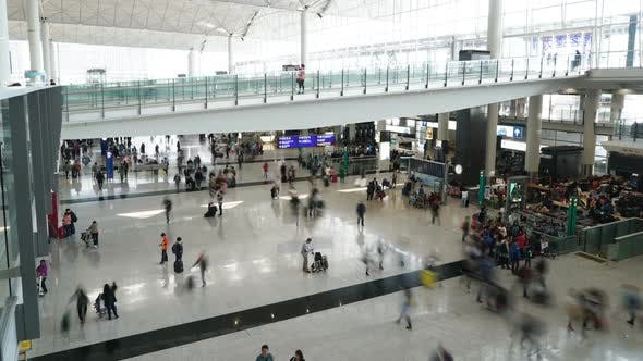 Thumbnail for Airport Terminal Crowd