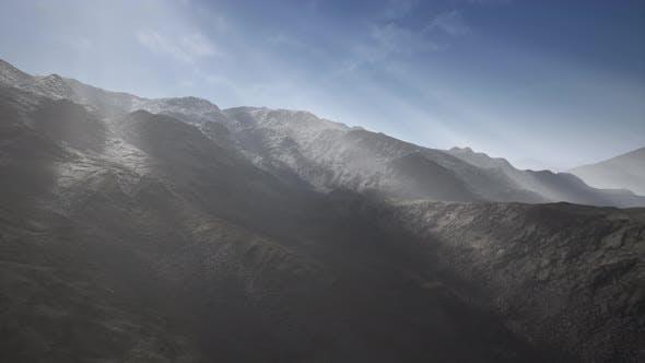 Mountain Landscape in High Altitude