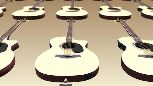 4K Guitar Background Seamless Loop