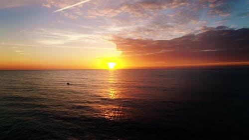 Sunset on the Sea, Ocean