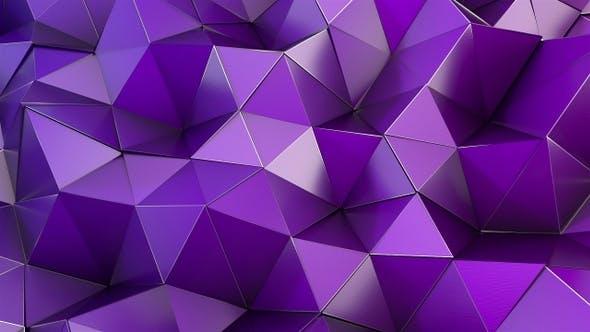 Thumbnail for Purple Polygon Waves 89