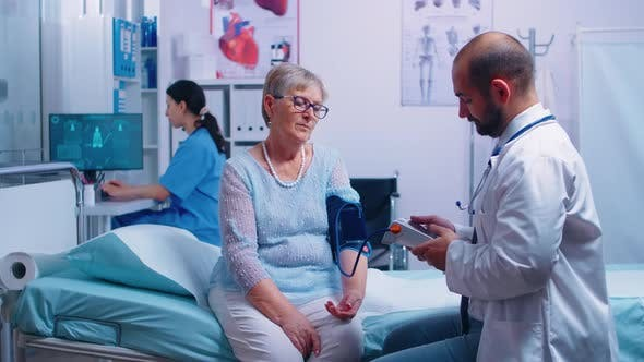 Thumbnail for Nurse Writes Blood Pressure Levels