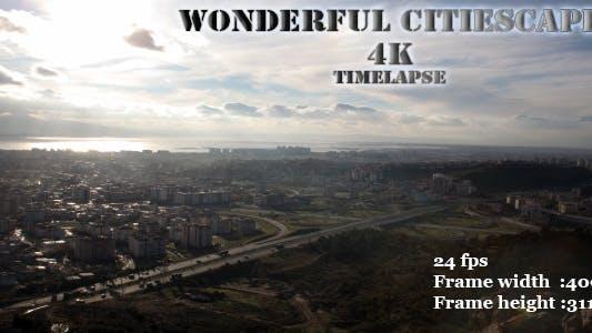 Thumbnail for Wonderful Cityscape 4K Time-lapse