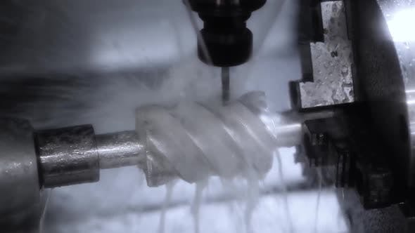 Thumbnail for Metalworking CNC Lathe Milling Machine