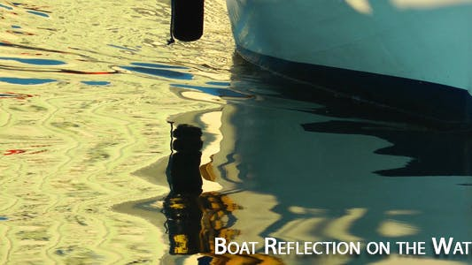 Thumbnail for Boat Reflection on the Water