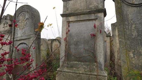 Old Jewish headstone