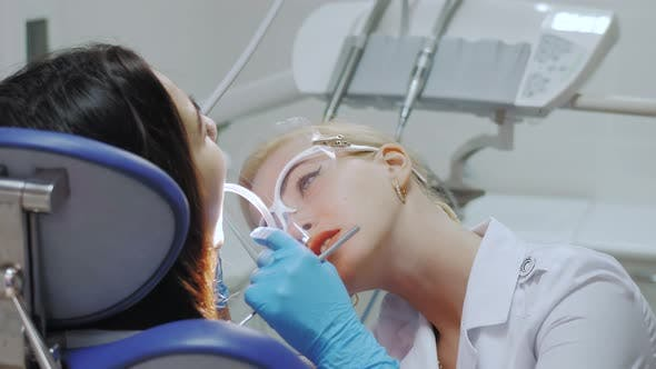 Thumbnail for A Dentist Drills a Tooth