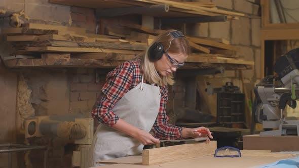 Portrait of Professional Handicraft Maker