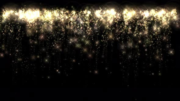 Fireworks Glitter Continuous 4K