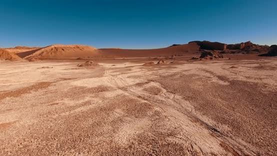 Thumbnail for Amazing Landscape of Atacama Desert. The Popular Attraction of Chile - Moon Valley