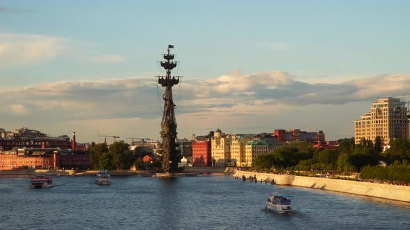 Thumbnail for Moscow River at Sunset