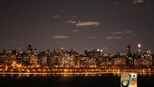Thumbnail for NYC Night Time Lapse Full HD