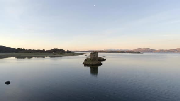 Thumbnail for Abandoned Ruins of Castle Stalker in Scotland