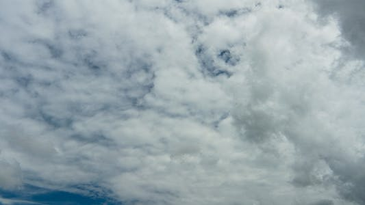 Thumbnail for Very Cloudy Tropical Sky Time Lapse - 3K Res